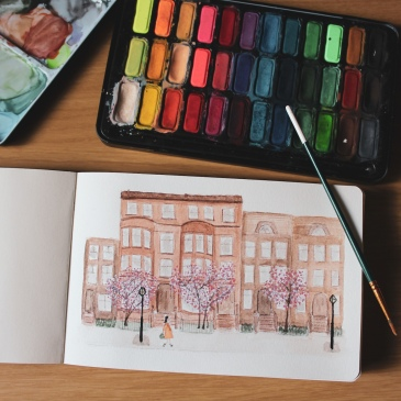 water colour drawing