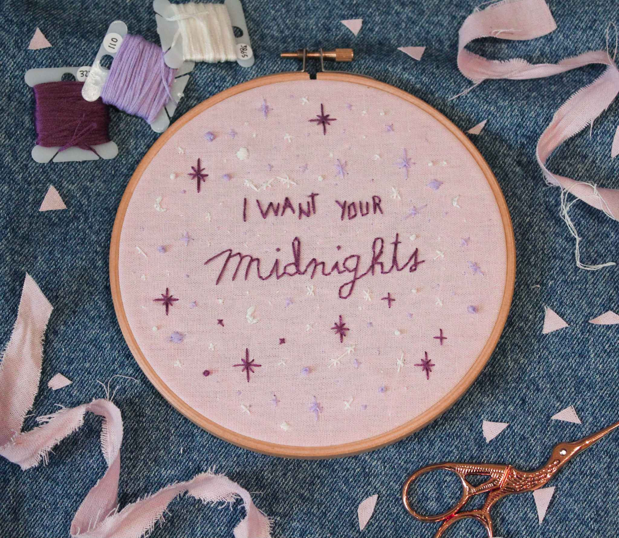 taylor swift embroidery