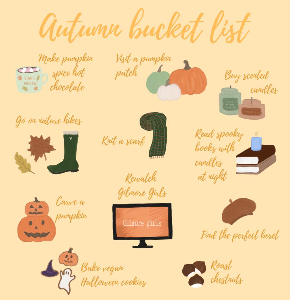 willow's autumn bucket list