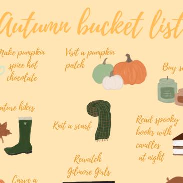 bucket list heading